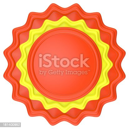 1094574474 istock photo Abstract circle label. 181400952