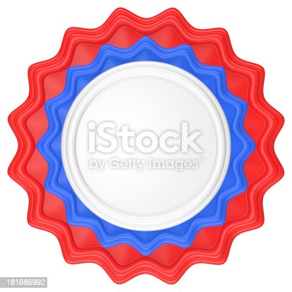 1094574474 istock photo Abstract circle label. 181686992