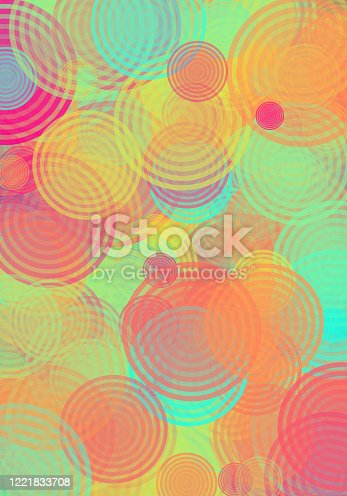 Abstract Circles Pattern Texture