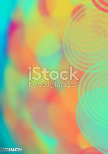 901409540 istock photo Abstract Circles Pattern Texture 1221833724
