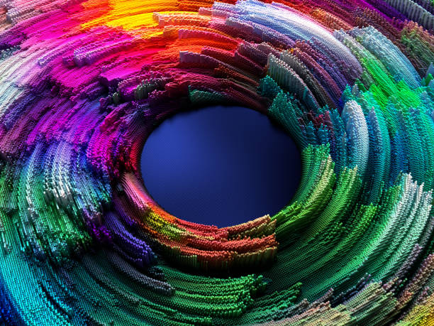 abstract circles - midsection stock pictures, royalty-free photos & images