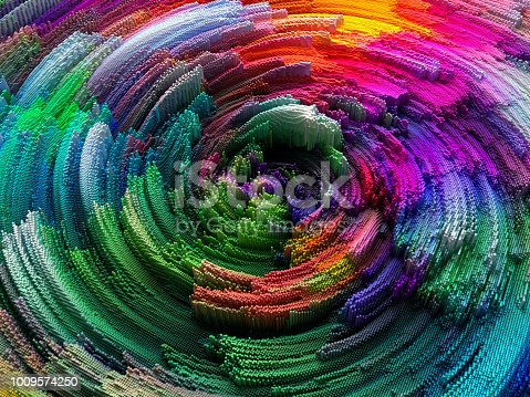 istock Abstract circles 1009574250