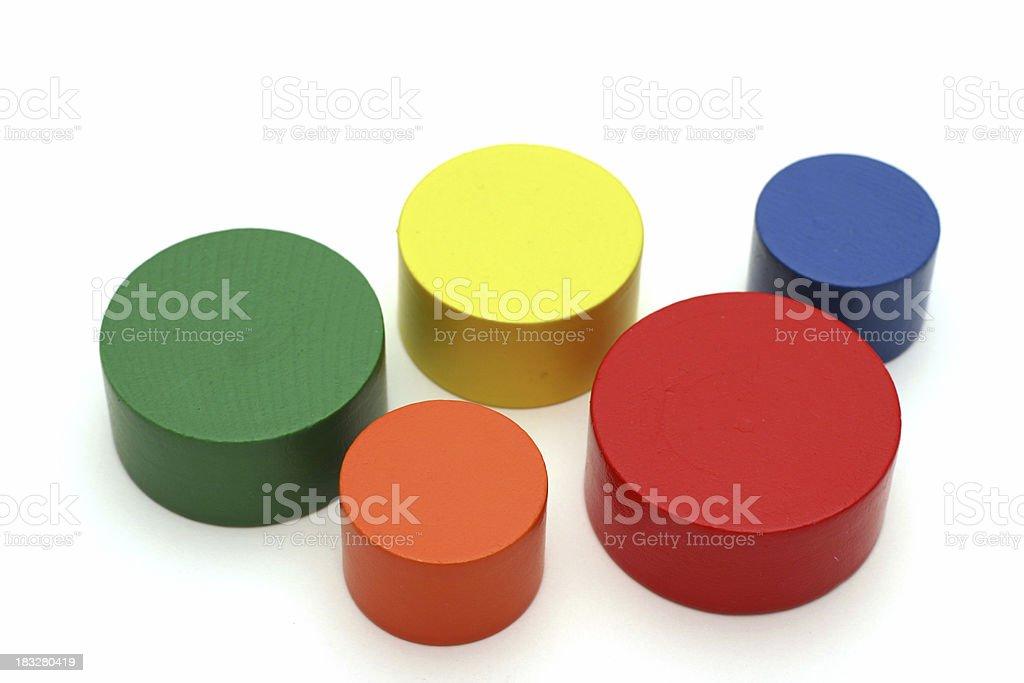 Abstract circles. royalty-free stock photo