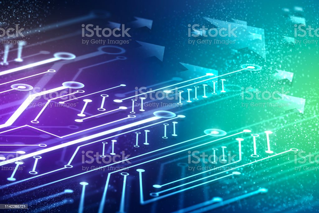 circuit diagram wallpaper abstract circuit arrows wallpaper stock photo download image now  circuit arrows wallpaper stock photo