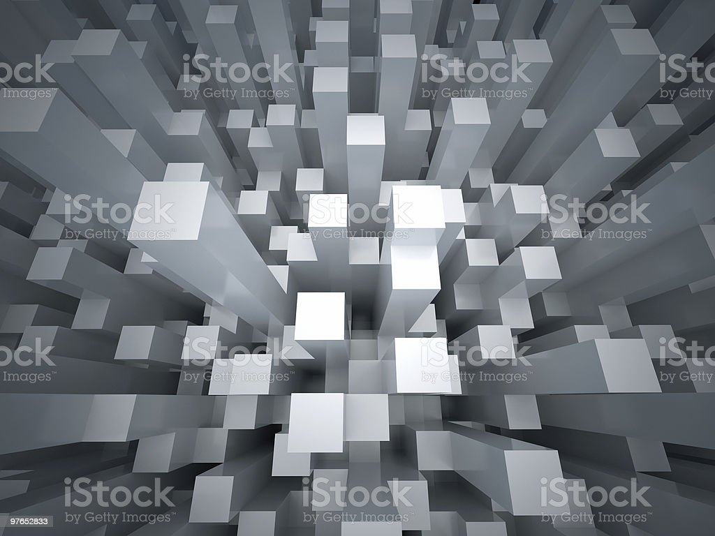 Abstract city background royalty-free stock photo