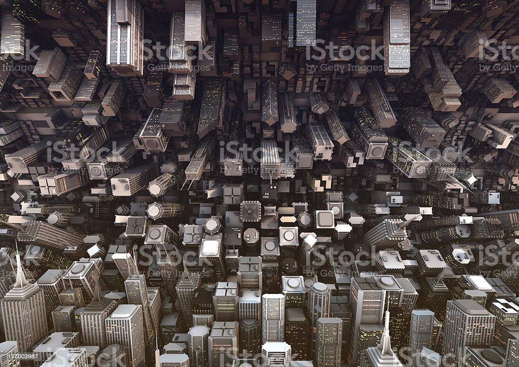 Abstrakte Stadt – Foto