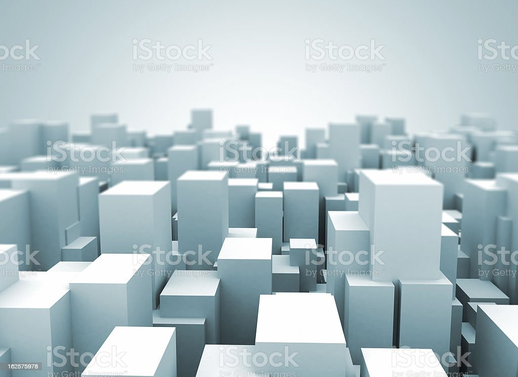 Abstract cityscape stock photo