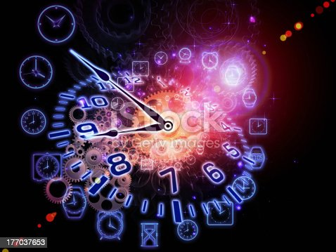 istock Abstract clock 177037653