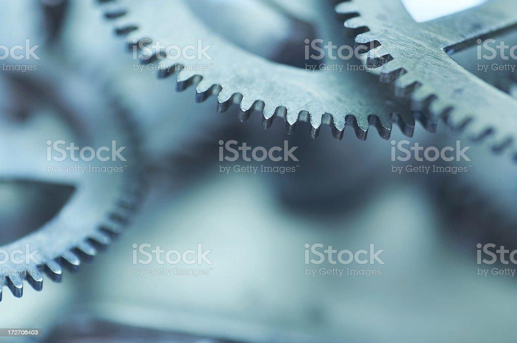 abstract clockwork background stock photo