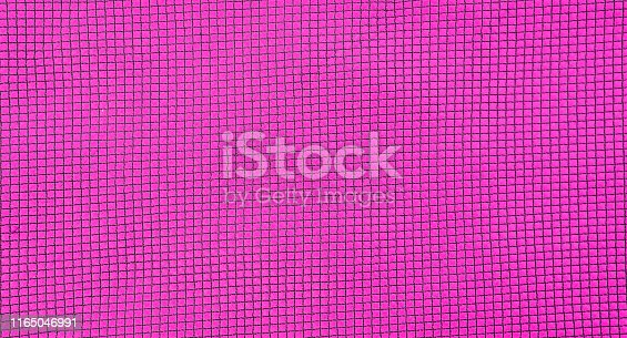 Abstract closeup pink fabric texture background, blank seamless pink fabric pattern background