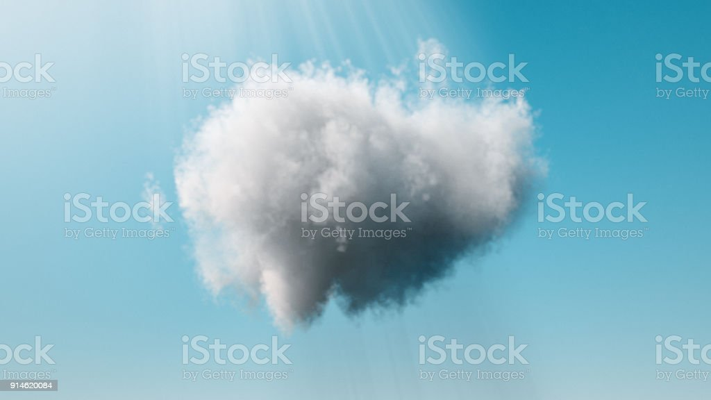 Abstract clouds background stock photo