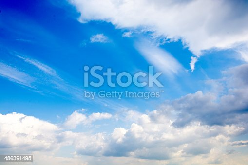 istock Abstract clouds 486391495