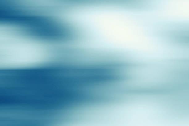 Abstracto gris fría fondo azul con desenfoque - foto de stock