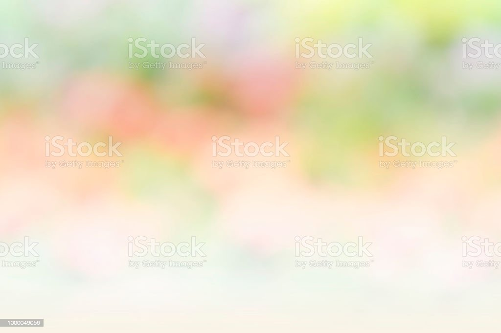 Abstract Color Blur Mix Green And White Color Background