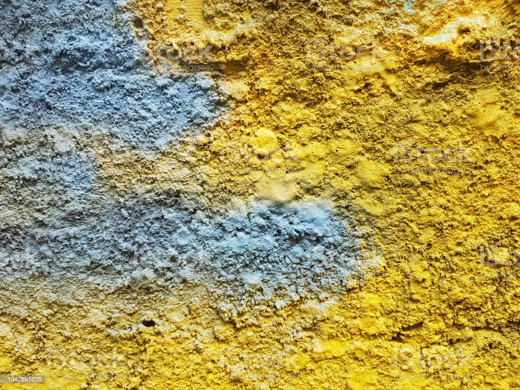 Abstract Color Painting On Concrete Block Background Smooth Texture ...