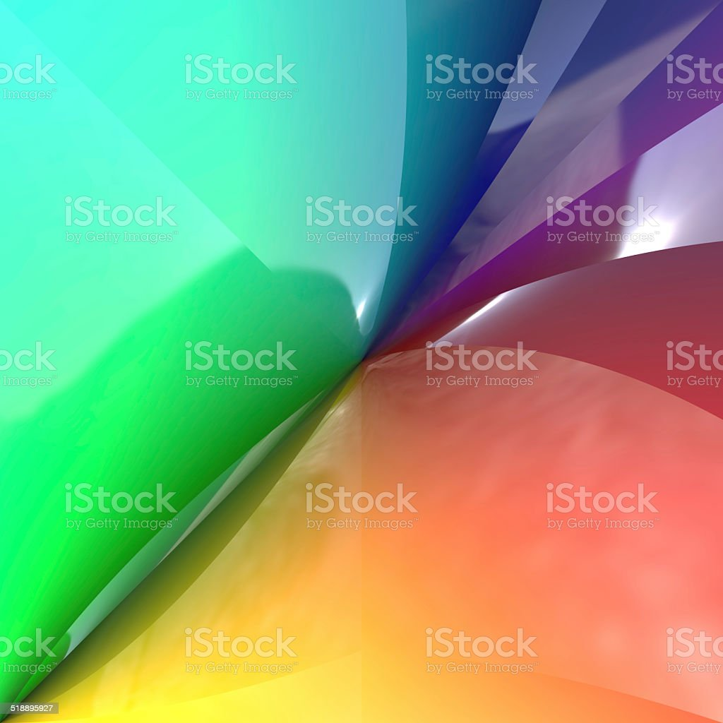 Abstract color plastic foils generated texture stock photo
