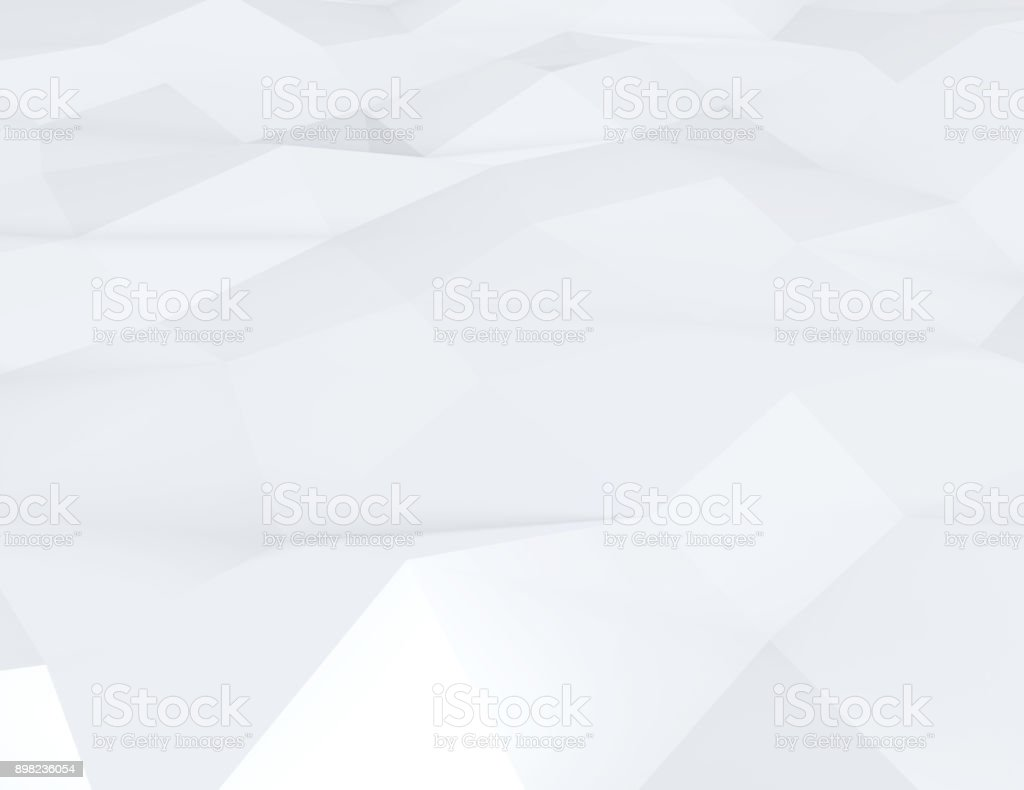 Abstract color triangles poster stock photo