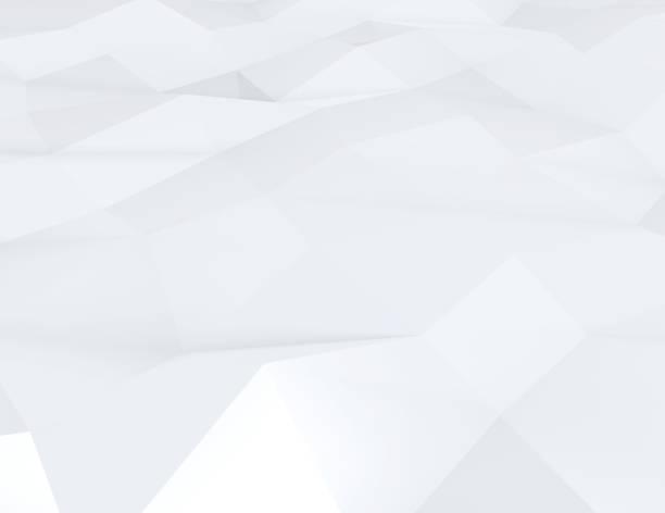 Abstrakte Farbplakat Dreiecke – Foto