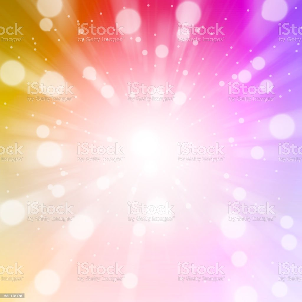 Abstract color with blur bokeh for background. stock photo
