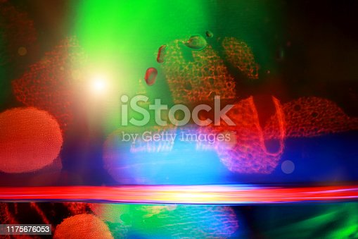 Abstract colored background with water surface.