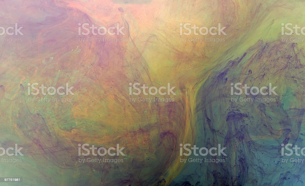 abstract colored flow stock photo