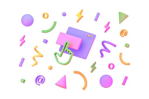 タッチパネルのイメージ アインの集客マーケティングブログ
