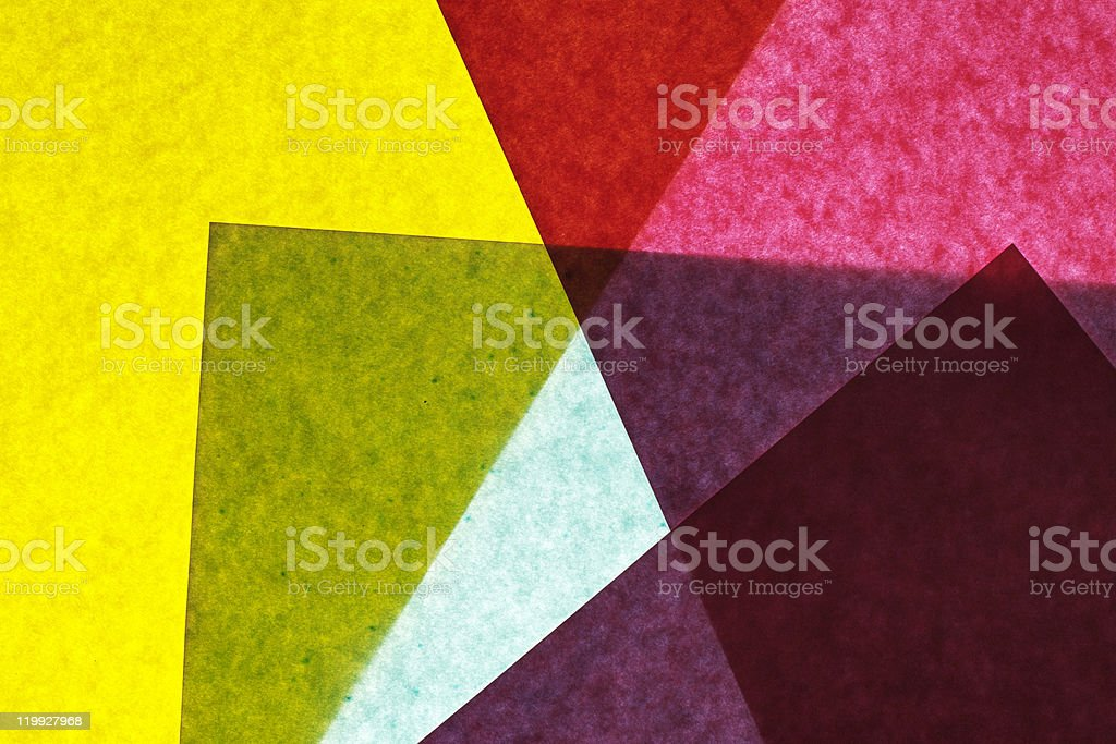 Abstract colored paper background royalty-free stock photo