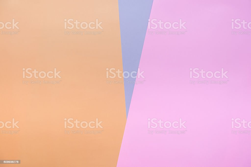 Abstract colorful background color paper in triangle shape stock photo
