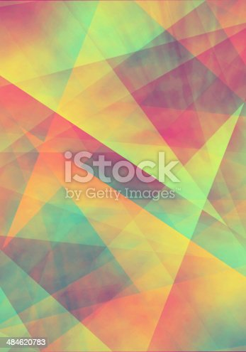 istock Abstract colorful background for design - illustration 484620783