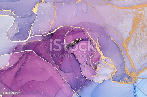 istock Abstract colorful background, wallpaper. Mixing acrylic paints. Modern art. Marble texture. Alcohol ink colors  translucent 1160356227