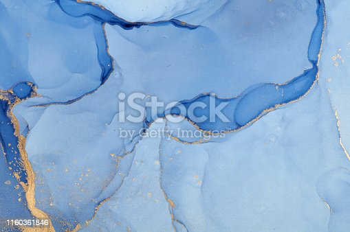 istock Abstract colorful background, wallpaper. Mixing acrylic paints. Modern art. Marble texture. Alcohol ink colors  translucent 1160361846