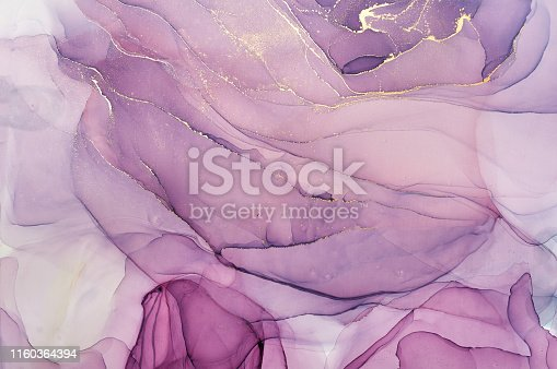 istock Abstract colorful background, wallpaper. Mixing acrylic paints. Modern art. Marble texture. Alcohol ink colors  translucent 1160364394