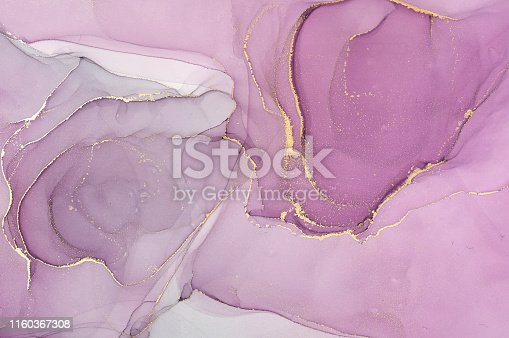 istock Abstract colorful background, wallpaper. Mixing acrylic paints. Modern art. Marble texture. Alcohol ink colors  translucent 1160367308