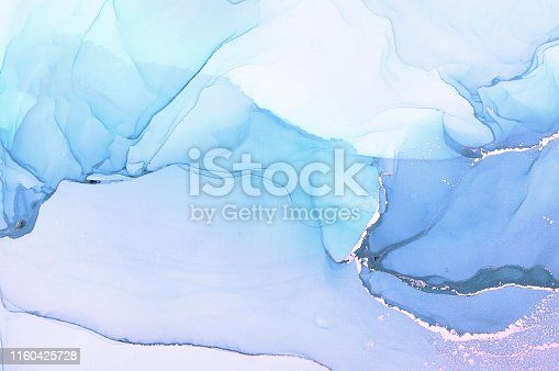 istock Abstract colorful background, wallpaper. Mixing acrylic paints. Modern art. Marble texture. Alcohol ink colors  translucent 1160425728