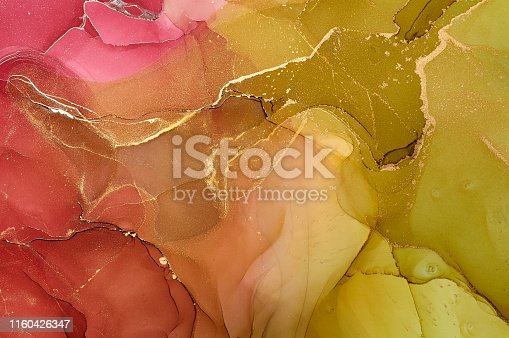 1160356323 istock photo Abstract colorful background, wallpaper. Mixing acrylic paints. Modern art. Marble texture. Alcohol ink colors  translucent 1160426347