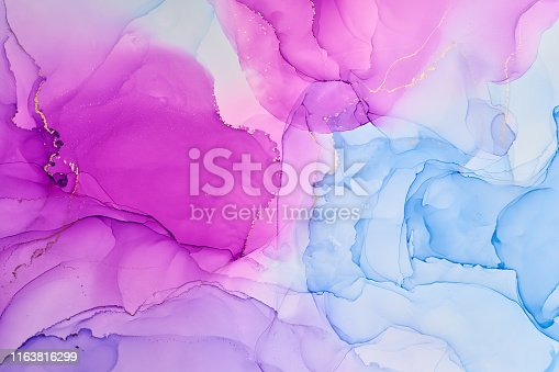 1160356323istockphoto Abstract colorful background, wallpaper. Mixing acrylic paints. Modern art. Marble texture. Alcohol ink colors  translucent 1163816299