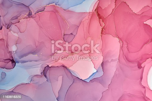1160356323istockphoto Abstract colorful background, wallpaper. Mixing acrylic paints. Modern art. Marble texture. Alcohol ink colors  translucent 1163816320