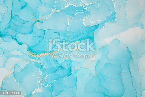 istock Abstract colorful background, wallpaper. Mixing acrylic paints. Modern art. Paint marble texture. Alcohol ink colors  translucent 1193679036