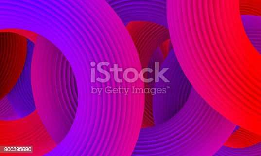 istock Abstract colorful circle background 900395690