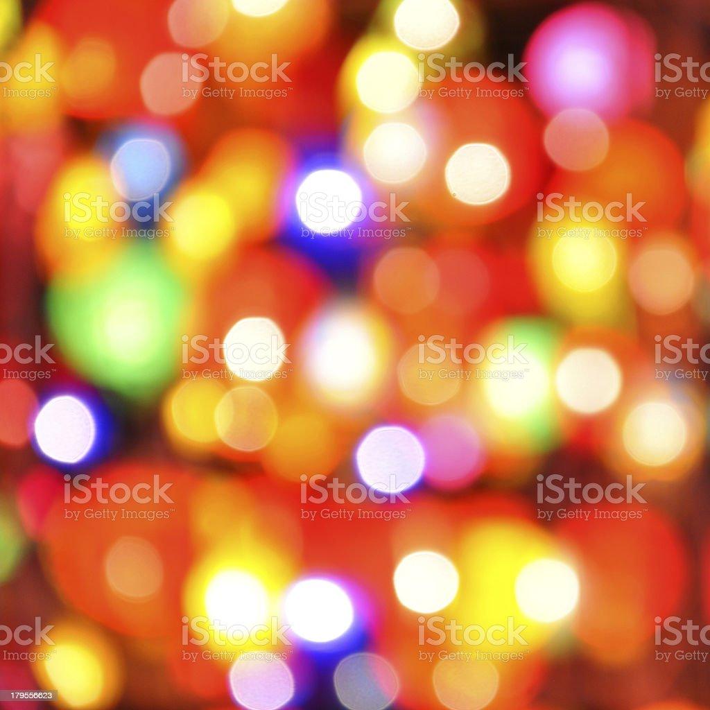 Abstract colorful circular bokeh royalty-free stock photo