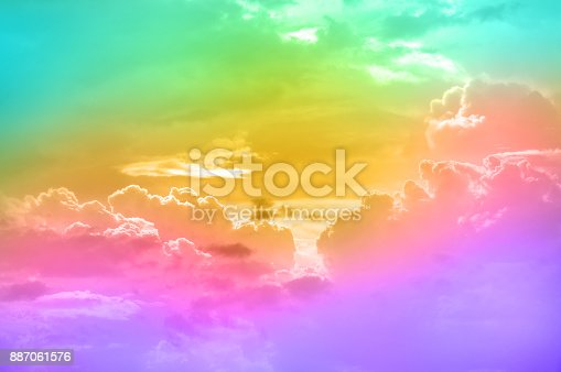 917116520 istock photo Abstract colorful Cloud and sky background. 887061576