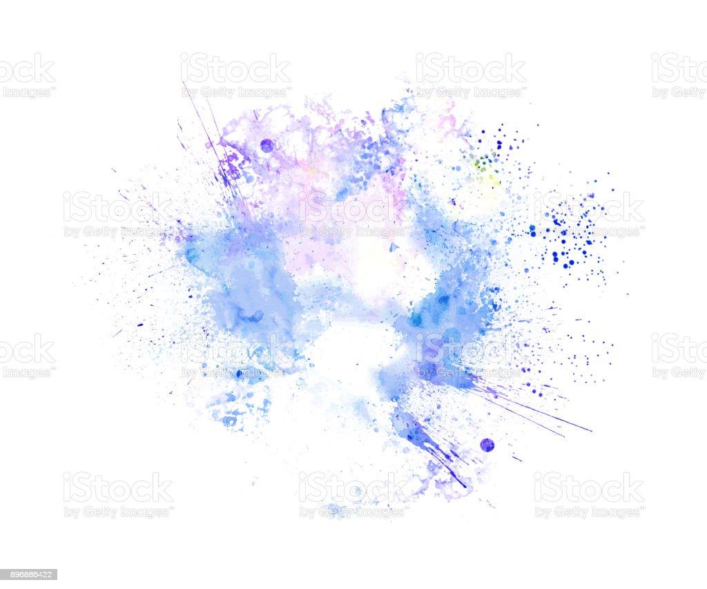 抽象多彩框架範本彩繪紋理背景和多彩飛濺刷到藝術。圖像檔