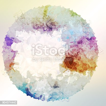 652750408istockphoto Abstract colorful geometric polygonal texture background and low poly color. 904374442