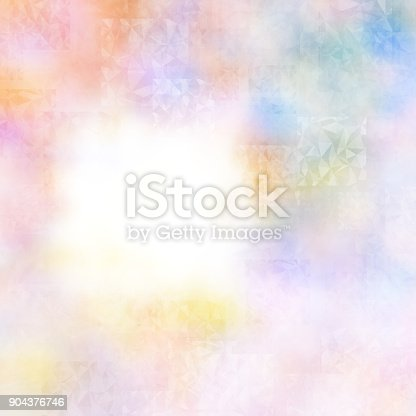 istock Abstract colorful geometric polygonal texture background and low poly color. 904376746