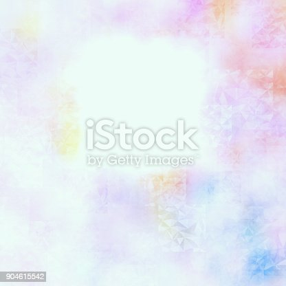 istock Abstract colorful geometric polygonal texture background and low poly color. 904615542