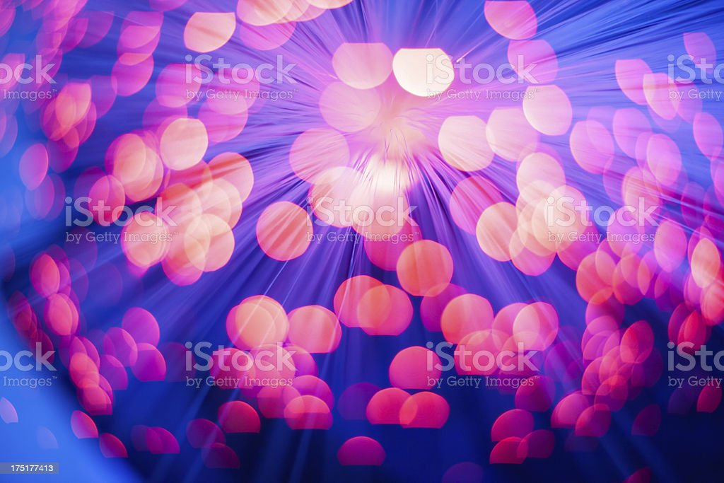 Abstract colorful lights royalty-free stock photo