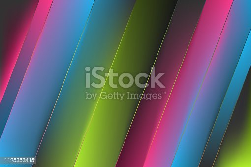 1087577664istockphoto Abstract Colorful Minimal Geometric Background Design with Gradient Shapes 1125353415