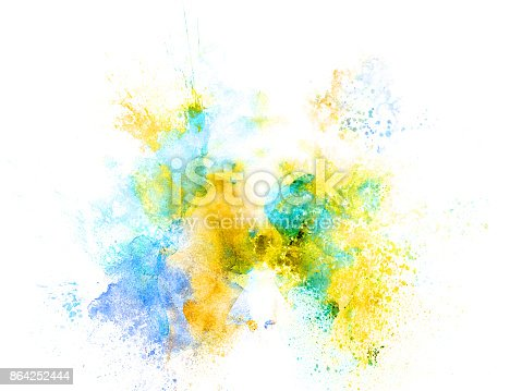 Abstract Colorful Painting Texture Background Colorful Brush Background Stock Photo & More Pictures of Abstract