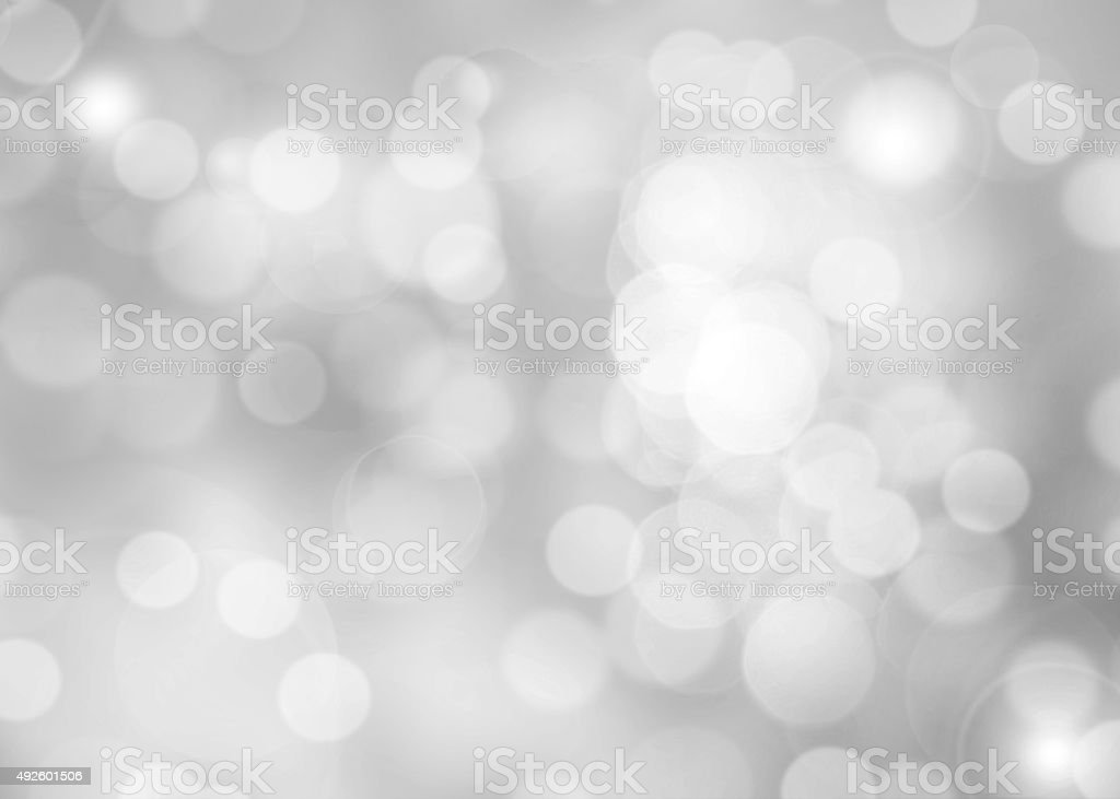 Abstract colorful photo of light  and glitter bokeh lights background. stock photo