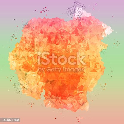 652750408istockphoto abstract colorful polygon texture background. 904371398